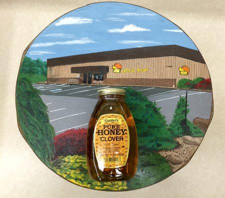 Clover Honey One Pound Jar